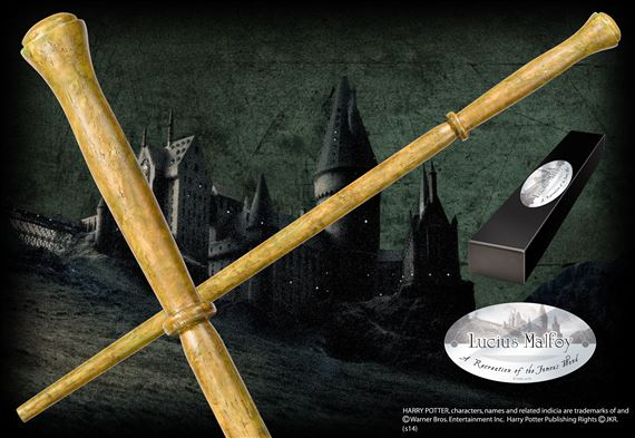 Lucius Malfoy Wand at noblecollection.com