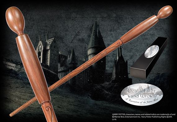 Death eater wand brown at for Gregorovitch wand