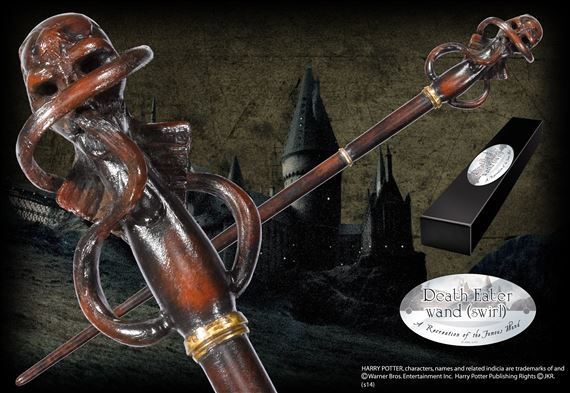 Death eater wand swirl at for Harry potter grindelwald wand
