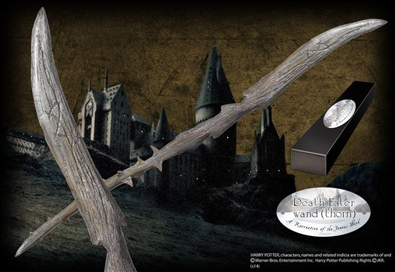 Death Eater Wand (Thorn) at noblecollection.com