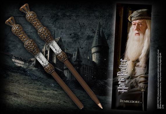 Wand Len dumbledore wand pen and bookmark at noblecollection com
