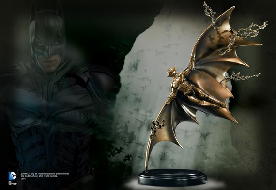 Batman Begins Gliding Sculpt