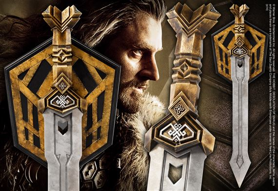 Thorin S Dwarven Sword At Noblecollection Com