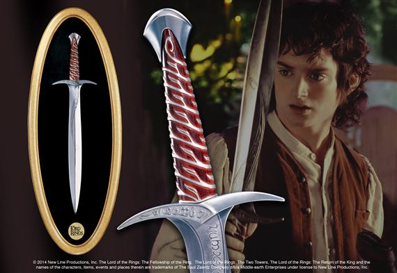 Sting Set, the sword of Frodo and Plaque