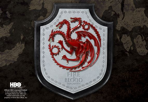 Targaryen House Crest WALL PLAQUE