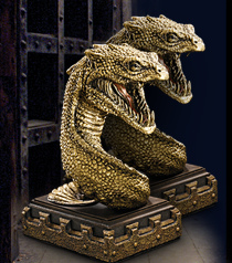 Basilisk Bookend - set of two