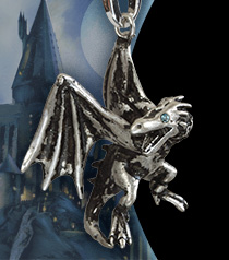 Lumos HP Charm # 27 - GRINGOTTS™ Dragon Charm