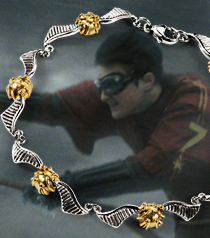 The Quidditch Snitch Bracelet