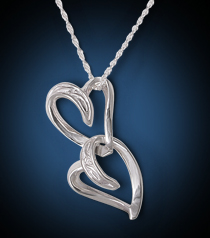 Entwined Hearts Necklace