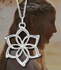 Galadriel Flower Necklace