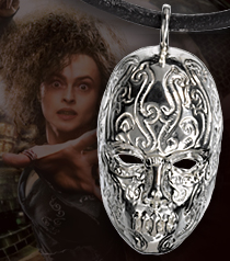 Bellatrix Death Eater Mask Pendant