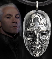Malfoy's Death Eater Mask Pendant