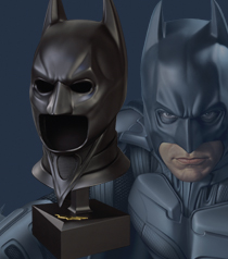 The Dark Knight Special Edition Cowl