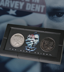 Harvey Dent and Two-Face Coins