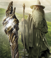 Gandalf Illuminating Staff