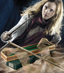 Hermione Wand with Ollivanders Wand Box