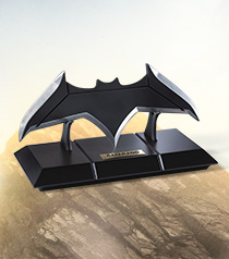 Batman Batarang and Display