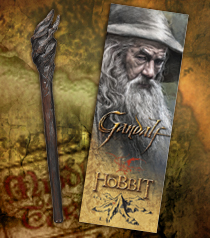 Gandalf Staff Pen and Bookmark