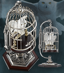 Miniature Hedwig and Cage