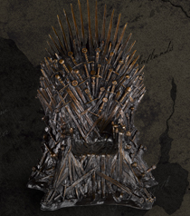 Game of Throne - Bronze Throne 14 inch