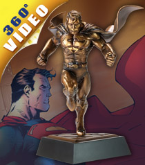 Superman Bronze Sculpt