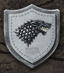Stark House Crest WALL PLAQUE