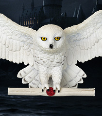 The Noble Collection Harry Potter Hedwig Owl Post Wall D/écor