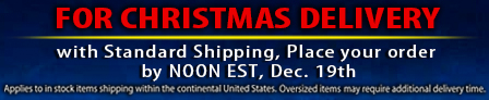Shipping Cutoff for Christmas Delivery